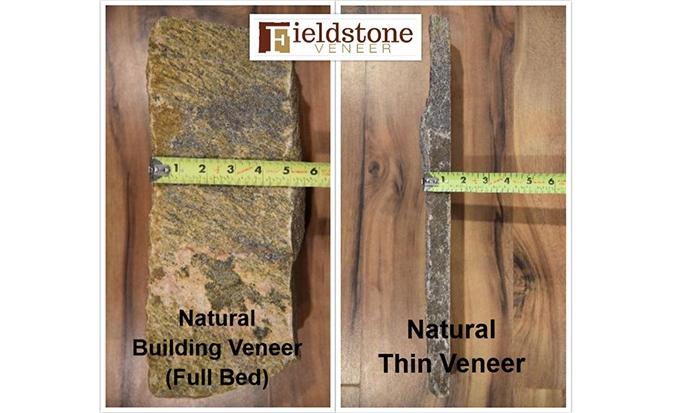 Full Bed Building Stone Veneer Versus Thin Stone Veneer