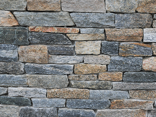 Natural Thin Stone Veneer By Fieldstone Veneer Inc